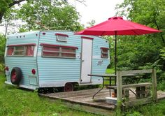Dottie 1973 Shasta 1400 camper. Has some cool how to vids for repairing and updating old RVs