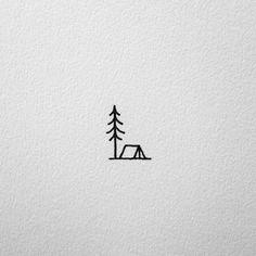 Tiny pine tree tattoo tatoo 35 ideas for 2019 Simplistic Tattoos, Subtle Tattoos, Trendy Tattoos, Cool Tattoos, Tatoos, Awesome Tattoos, Sexy Tattoos, Easy Small Tattoos, Dad Tattoos