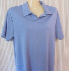 PERRY ELLIS Shirt Pull over Top Size:Small Light Lavender Super Soft Polyester…
