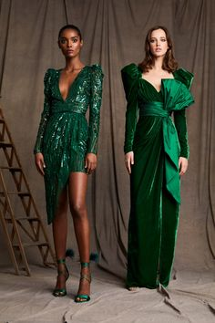 Zuhair Murad Pre-Fall 2020 Fashion Show Collection: See the complete Zuhair Murad Pre-Fall 2020 collection. Look 27 Fashion 2020, Runway Fashion, Boho Fashion, Fashion Dresses, Fashion Design, Fashion Poses, Fashion Hacks, Grunge Fashion, Fashion Editorials