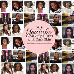 70+ Youtube Makeup Gurus with Dark Skin - The Style and Beauty DoctorThe Style and Beauty Doctor