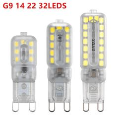 Led G9 220v 240v G9 3w 5w 7w Lamps Ceramic Light 2835 Smd Crystal Led Bulb Cold White Warm White Wholesale Free Shipping Led Bulbs & Tubes