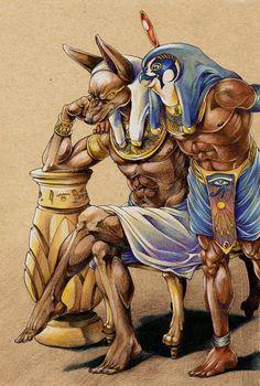 Resultado de imagen para horus egyptian god art