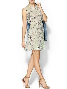 BCBGMAXAZRIA Lace Floral Dress   Piperlime