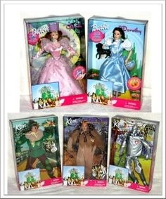 Barbie Wizard Of Oz I have the lion of course Wizard Of Oz Movie, Wizard Of Oz 1939, Wizard Of Oz Collectibles, Land Of Oz, The Worst Witch, Yellow Brick Road, 90s Kids, Over The Rainbow, The Wiz