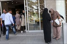 """The Iranian regime's State Security Forces (police) have shut down at least 26 cafés in Tehran during the past week for """"failure to comply with certain regulations"""" which include """"improper dressing by costumers and smoking cigarettes""""."""