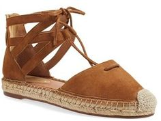 Caslon ® Lace-Up Espadrille Flat (Women)