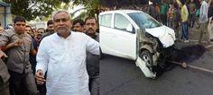 अभी-अभी बड़ी खबर आ रही है। बिहार के CM नीतीश के काफिले की गाड़ी दुर्घटना ग्रस्त हो गई है। इसमें चार जवान घायल हो गए हैं।Read more:-https://goo.gl/jcKdbb