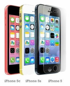 The Grafu Screen Protector Compatible with iPhone 5C Anti Scratch 9H Hardness High Clarity Tempered Glass Screen Protector for iPhone 5C 4 Pack