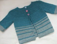 Ravelry: POP! baby cardigan pattern by Rachel Atkinson