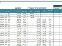 Account Receivable Spreadsheet Excel Templates Excel Spreadsheet Template
