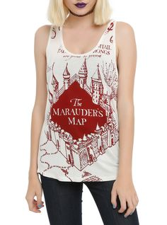 Harry Potter Marauder's Map Girls Tank Top | Hot Topic
