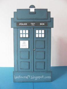 Hau To Craft: Dr Who - Tardis Birthday Card