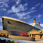 Titanic Museum Attraction in Pigeon Forge TN April 2014
