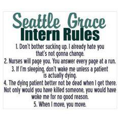 Intern rules