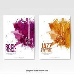 Chaque genre de musique à une couleur qui la désigne. Ex: Jazz = bleu