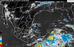 Tormentas muy fuertes se pronostican hoy en regiones de Michoacán, Estado de México, Veracruz, Campeche, Oaxaca y Chiapas, y tormentas locales fuertes en Nayarit, Jalisco, Colima, Guanajuato, Morelos, Puebla, Ciudad ...