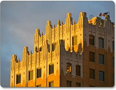 Continental Tower, Enid Oklahoma, photo by Mike Klemme