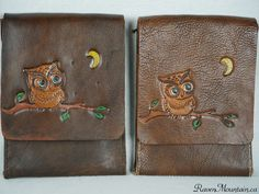 Leather Bags, Hand Stitching, Bag Making, Messenger Bag, Coin Purse, Owl, Handbags, Wallet, Purses