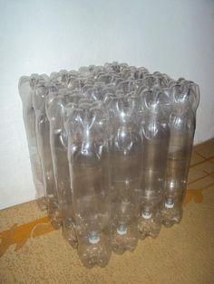 Ideas para hacer muebles y cosas utiles para la casa a partir de botellas de plastico PET, envases, llantas y palets. | . . . . . . . . . . . . El detalle que hace la diferencia
