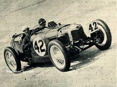 Elsie 'Bill' Wisdom. Racing career of over twenty years.