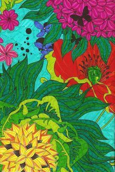 Het enige echte Kleurboek voor Volwassenen - Pagina 9 The one and only Coloring Book for Adults - Page 9