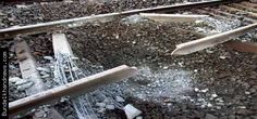 Maoists shattered rails in Bihar