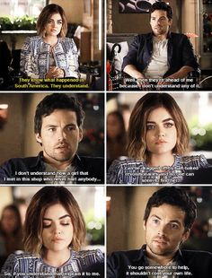 "#PLL 6x11 ""Of Late I Think Of Rosewood"" - Aria and Ezra"