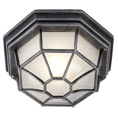 https://haysoms.com/outdoor-lighting/hexagonal-blacksilver-flush-ceiling-porch-light-with-frosted-glass-diffuser