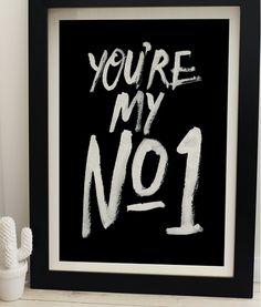 TypeFlirt / Cute Flirty Typography Design