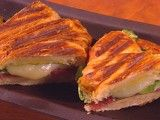 Cooking Channel serves up this Croissant Panini recipe from Giada De Laurentiis plus many other recipes at CookingChannelTV.com