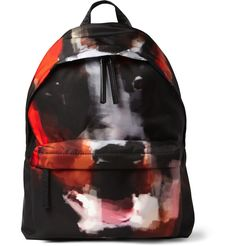 GIVENCHY DOBERMAN-PRINT BACKPACK