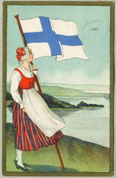 finnish flag - Bing Images