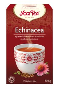 Yogi Tea Echinacea is Ayurvedic formula for boosting the immune system.