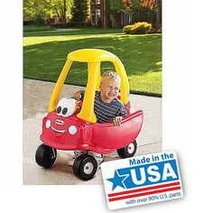 Garage Little Tikes Princess Cozy Coupe Ride On And