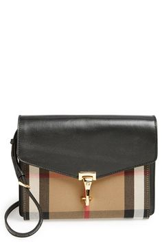 Free shipping and returns on Burberry 'Small Macken' Crossbody Bag at Nordstrom.com. Classic checks lend signature sophistication to a sized-down crossbody bag framed with smooth, buttery-soft leather. A slim crossbody strap adds hands-free versatility and can be removed for a chic clutch style.