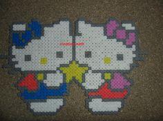 Image - hello kitty - Mes créations en perles à repasser - Skyrock.com