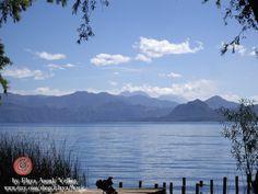 Blue Peace Photography  Atitlan Lake Guatemala. by ElayaMagic