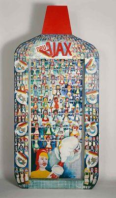 Ajax by Thomas Bayrle  1966....belgian pioneer of pop art (?)