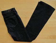 Paige Denim jeans 27 Skyline Boot Cut Dark Paris Rinse Stretch Premium Denim 32 #Paig #BootCut