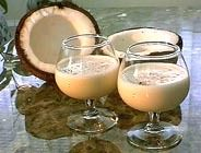"""Christmas Drink...""""Coquito"""". Coquito is, somewhat, the Puerto Rican version of a Holiday eggnog… sort of.  1 pint of Haagen Dazs vanilla bean ice cream, 1 can of condensed milk,    1 can of Carnation milk, 1 can of Coco Lopez, cream of coconut, 1 cup of Don Q (white Puerto Rican rum). Mix it all in a blender and enjoy!!@pinterest"""