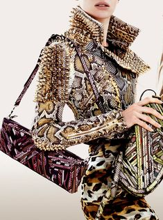Burberry ...way over the top, but I can't help loving the look!