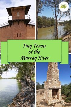 When travelling along the Murray River there is so much to see and do. But make sure you take the time to explore all the tiny towns of the Murray River. Murray River, Prison Life, John The Evangelist, Shady Tree, Two Rivers, Holiday Park, Beautiful Park, South Australia, Beautiful Buildings