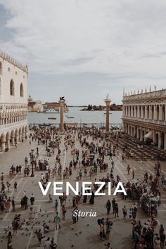 VENEZIA Storia So beautiful Venezia, so magical, mythic, a paradise for the architecture lovers & History GRANDE CANAL So extravagant! PIAZZA SAN MARCO THE END