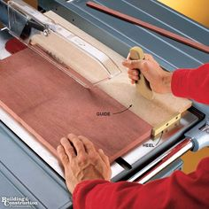 13 Cutting Edge Table Saw Hacks - Building and Construction Professionals