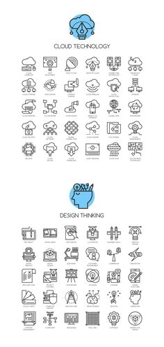 CONCEPT LINE ICONS on Behance