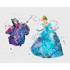 Cinderella & Fairy Godmother