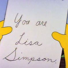 """When Mr Bergstrom showed up to Springfield Elementary and offered up some of the most powerful words and messages to a young, crushed Lisa. 