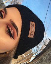 angrydinosaurx ✧* beauty eye makeup, beauty makeup и makeup looks. Glam Makeup, Skin Makeup, Makeup Inspo, Eyeshadow Makeup, Makeup Inspiration, Beauty Makeup, Makeup Tips, Copper Eyeshadow, Makeup Ideas