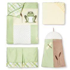 Sweet Jojo Designs 11pc Leap Frog Crib Set